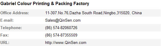 Factory Contact Information